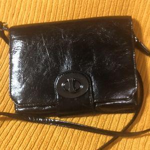 New! Danier Italian Leather crossbody bag